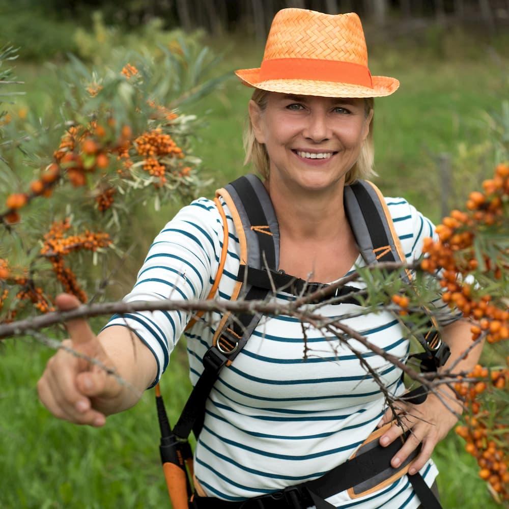 Ūkininkė Daiva Kvedaraitė
